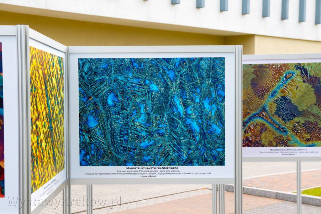 Ścianka wystawowa na Wystawie Plenerowej w Krakowie dla Instytutu Odlewnictwa
