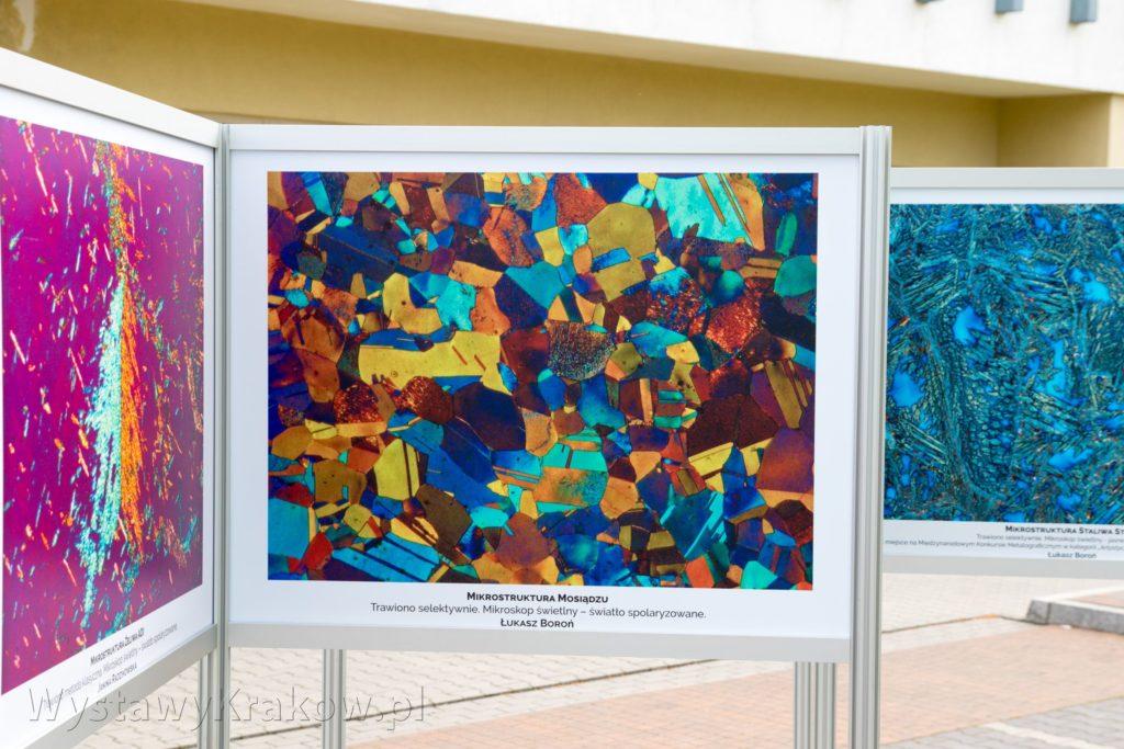 Efekt druku UV na Wystawie Plenerowej w Krakowie