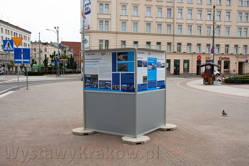 Wystawa plenerowa w Poznaniu - nasz system fotoplastikonów prezentuje się znakomicie w przestrzeni miejskiej