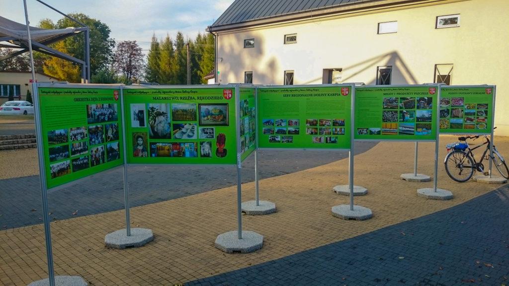 Wystawa Plenerowa w Brzeźnicy - system wystawienniczy w pełnej okazałości