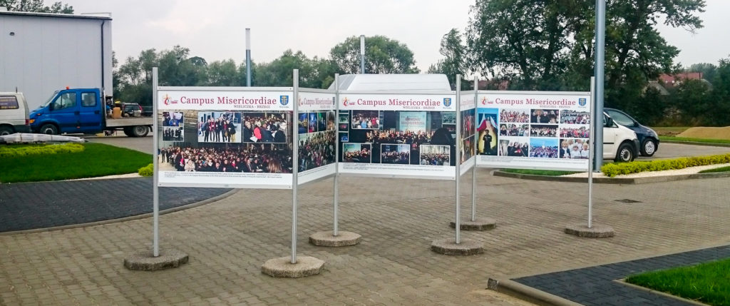 Wystawa Plenerowa Campus Misericordiae - Światowe Dni Młodzieży