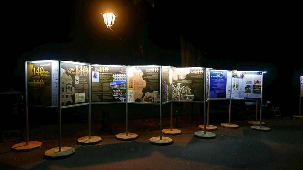 Wystawa 140 lat Organizacji Stowarzyszeń Naukowo-Technicznych w Galicji i Małopolsce