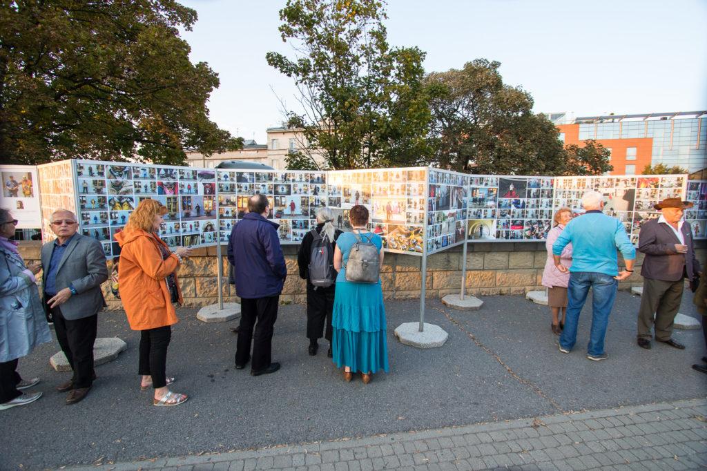 Wystawa zewnętrzna w Krakowie