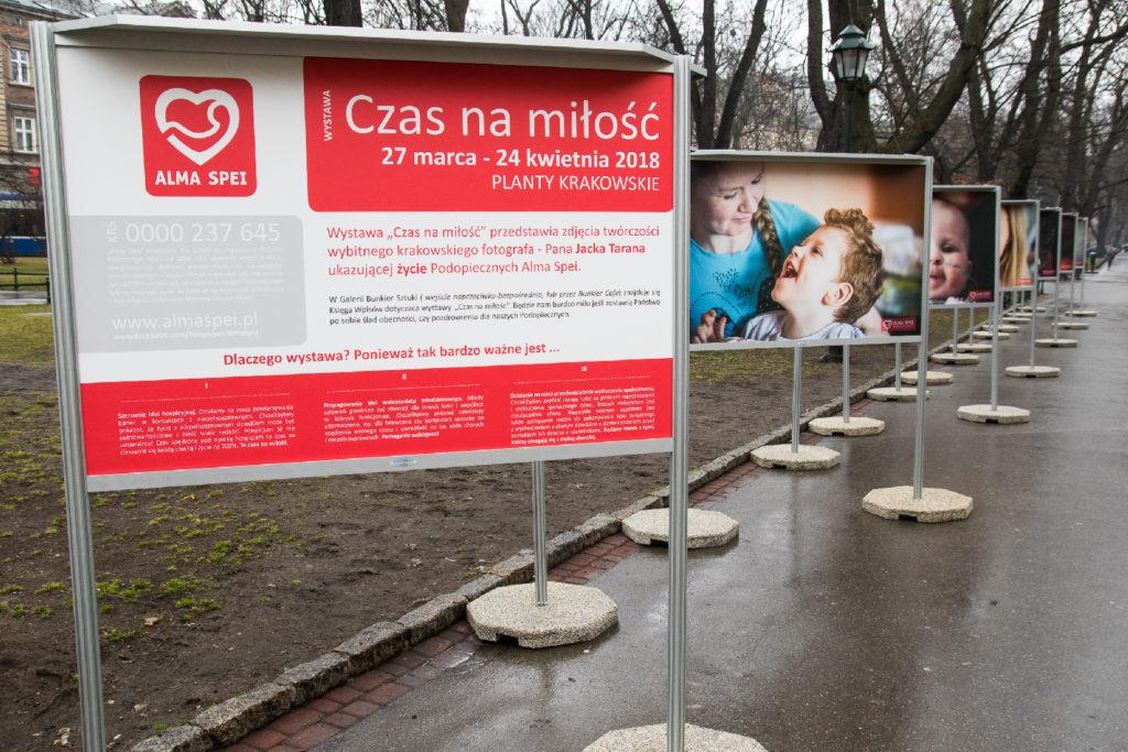 Wystawa Plenerowa w Krakowie przygotowana przez wystawykrakow.pl