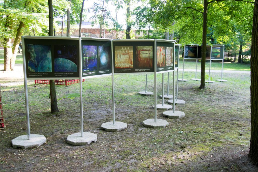 Wystawa plenerowa w Markach